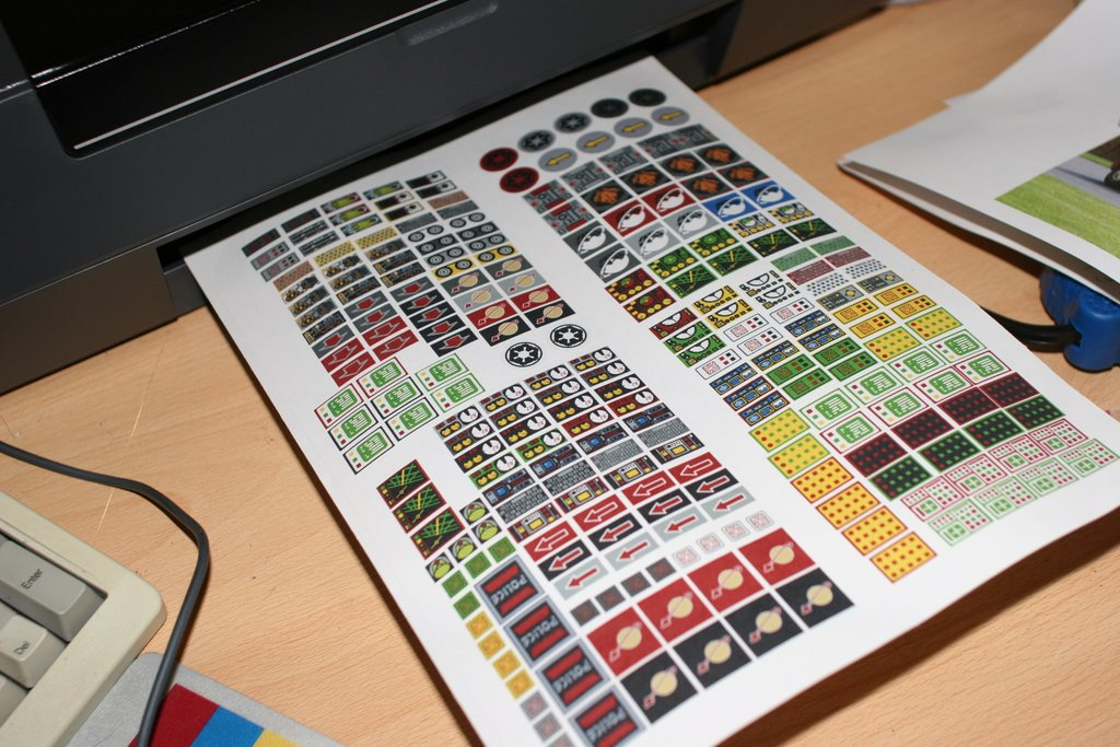 How to print the stickers : Marutan.net